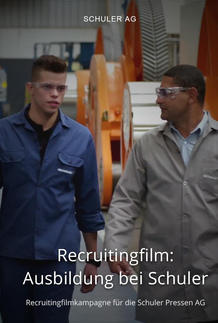 Recruitingfilm für Schuler: Ausbildung