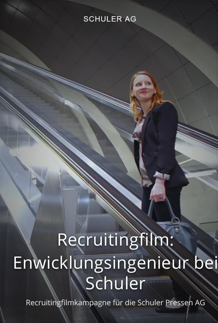 Recruitingfilm für Schuler: Enwicklungsingenieur