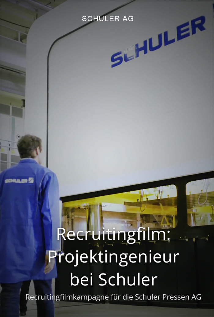 Recruitingfilm für Schuler: Projektingenieur