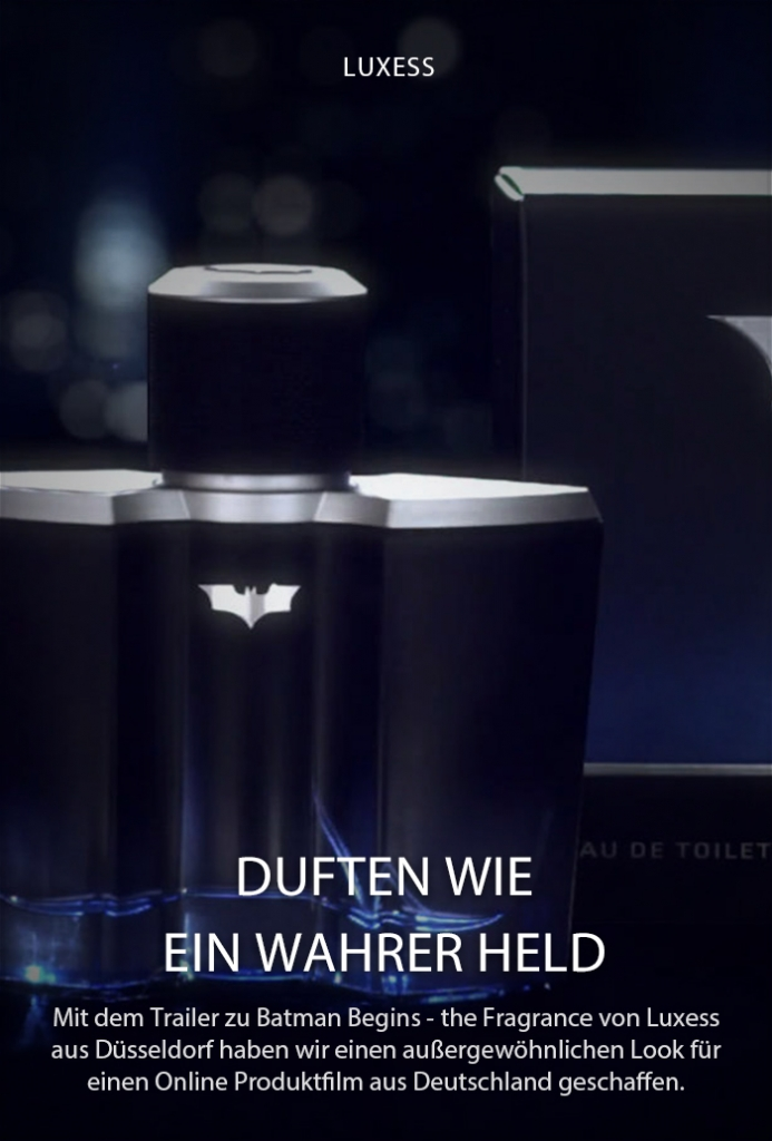Produktfilm: Batman Begins -­ The new dark Fragrance