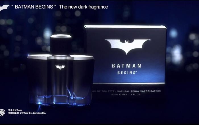 Produktfilm für Batman: Duften wie ein wahrer Held